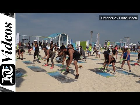 Dubai Fitness Challenge enters its second week with a bang