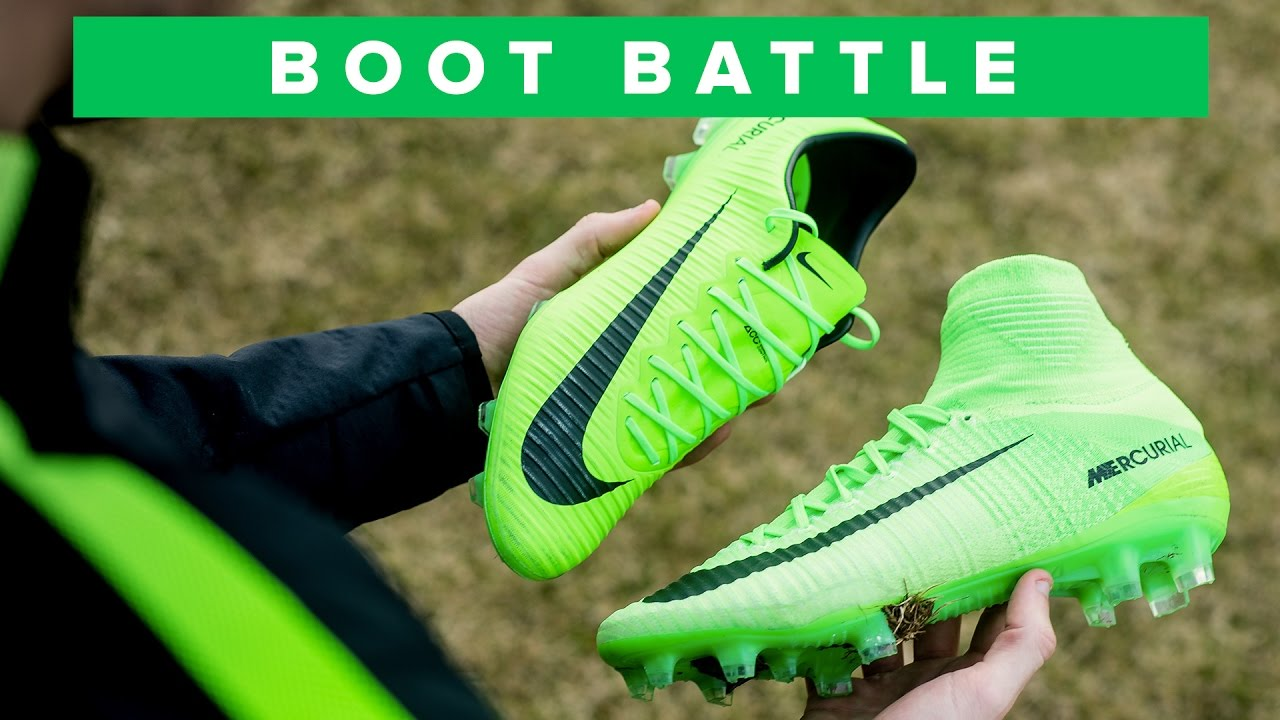 d30e3849f SUPERFLY 5 vs VAPOR 11 | Nike Mercurial Battle - YouTube