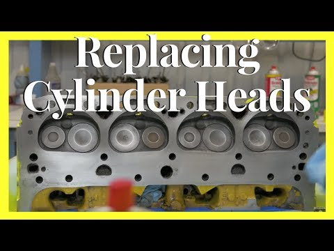 How To Install Heads On A Chevy | Rebuilding A Cylinder Head
