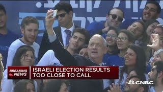 Israeli election results too close to call