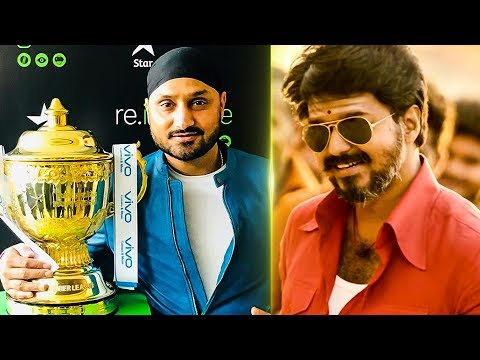 Mersal Tweet: Harbhajan joins CSK   IPL Auctions 2018