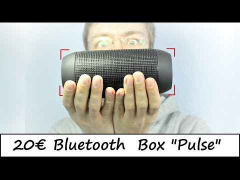 20€ Bluetooth Box Pulse - Eine JBL Kopie - Review - Deutsch