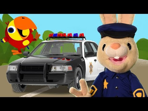 Harry And Larry Pretend Play Policeman | Baby Learning First Words with The Jobs Songs for Toddlers