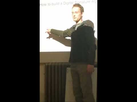 Alex Melville - Elliptical curve of bitcoin cryptography