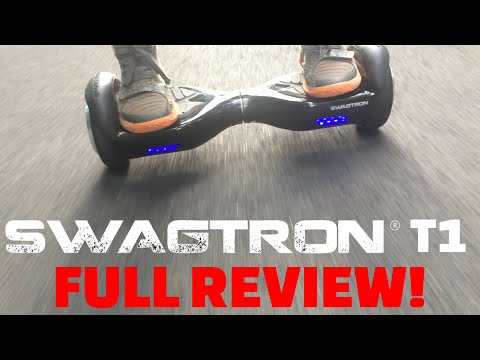 Swagtron T1 Full Review! UL Certified Hoverboard! - tylerf