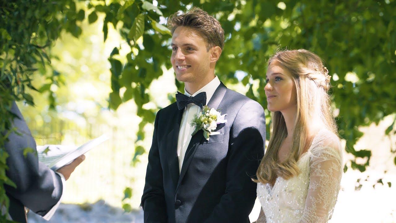 ccecddf7 Udendørs bryllup på Næsbyholm Slot - Bryllupsvideo - YouTube