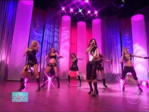 The Pussycat Dolls Buttons Live Ellen Degeneres Show