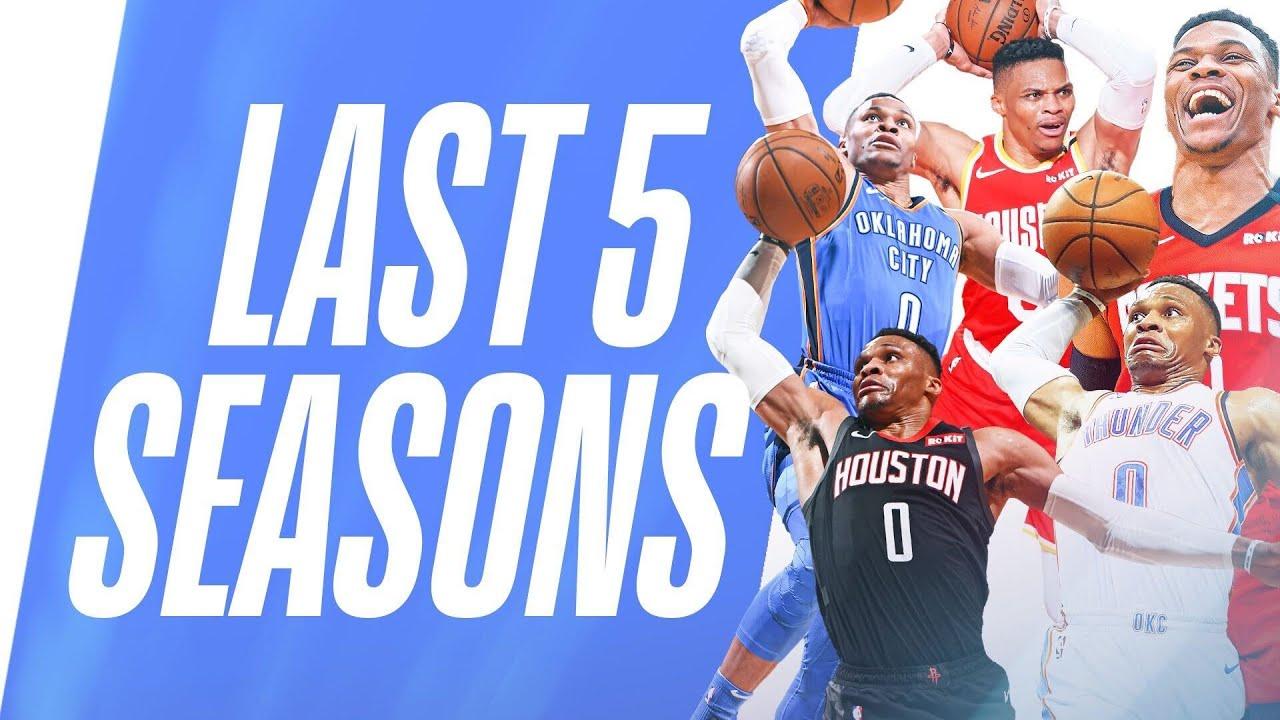 Westbrook's BEST Fast Break Dunks | Last 5 Seasons