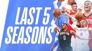 Westbrook's BEST Fast Break Dunks | Last 5 Seasons