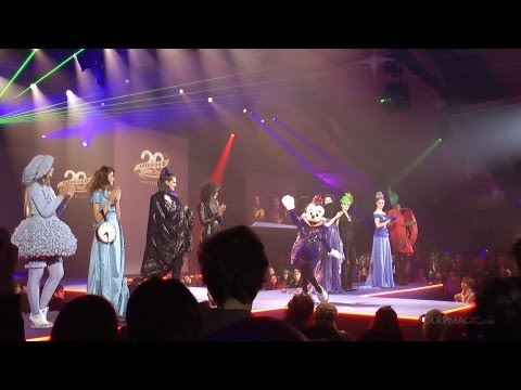 'Designers of Dreams' Fashion Show Disneyland Paris 20th Ann