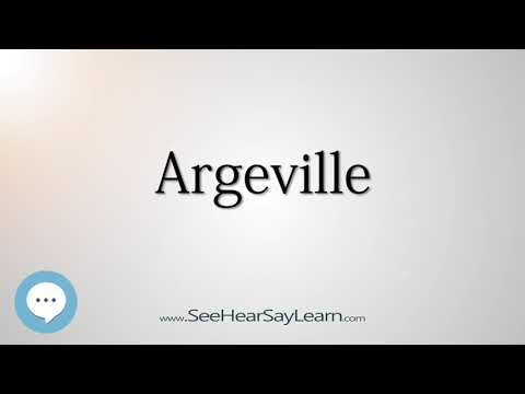 Argeville (How to Pronounce Cities of the World)💬⭐🌍✅