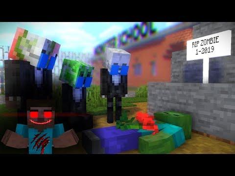 Monster School : HEROBRINE BECOME EVIL RIP ZOMBIE - Best Mineraft Animation