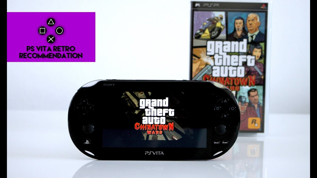 Grand Theft Auto Chinatown Wars - PS Vita Retro Recommendation ...