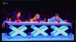 Britains Got Talent 2011 Mickey Gooch 1 finger push-up