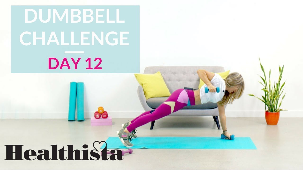 30 Day Dumbbell Workout Challenge