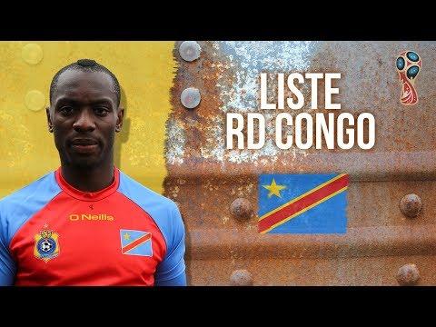 Eliminatoires CM 2018 : Liste des 25 de la RD Congo contre la Tunisie