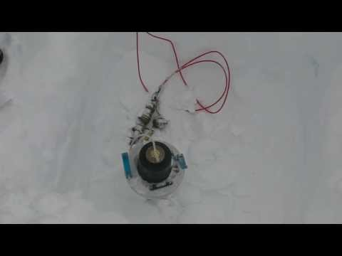 Antarctic trip 2012-2013: SouthPole Station sys6 Test FGM sensor