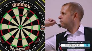 Barry Hawkins | The BetVictor 9 Dart Challenge | World Snooker