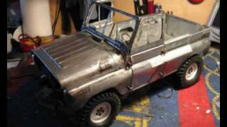 UAZ 469b RC 1:10 FULL METAL BUILD (Part 1 of 2)
