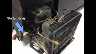 Video Refrigerator Troubleshooting Repair not cooling - Compressor starter relay download MP3, 3GP, MP4, WEBM, AVI, FLV Juni 2018