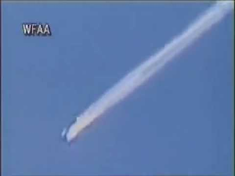 RARE! Space shuttle Columbia Explosion footage