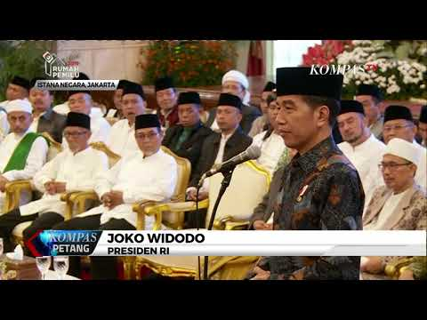 Presiden Jokowi Bertemu Ulama Dan Habaib Di Istana