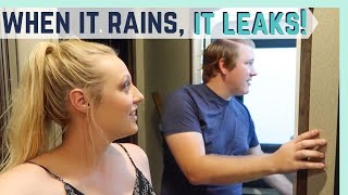 WHEN IT RAINS, IT POURS (AND LEAKS!) || RV LIVING