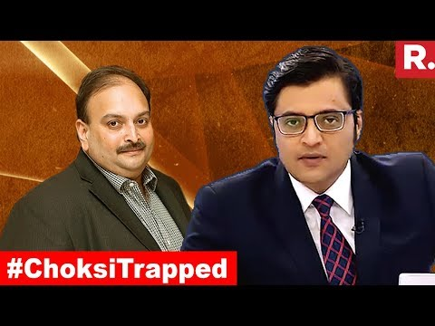 Should India Invoke Antiguan Law And Get Mehul Choksi Back? | The Debate With Arnab Goswami