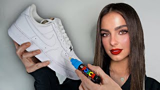 Surprising Addison Rae & Avani with Custom Shoes!! (Ft. Tik tok & Avani)
