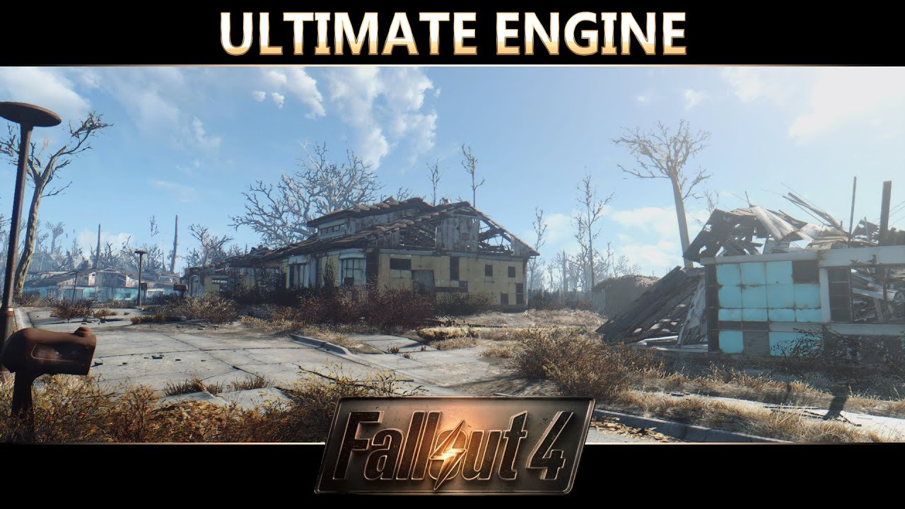 Fallout 4 Reshade Mod Showcase : Ultimate Engine Preset by Extark by AOD  Gaming