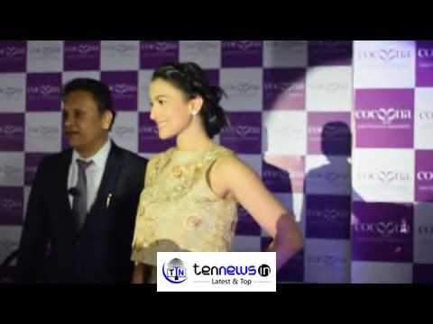 ACTRESS GAUAHAR KHAN LAUNCHES THE COCOONS CENTRE FOR AESTHETIC TRANSFORMATION IN NEW DELHI.