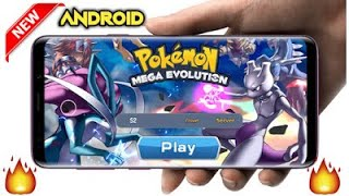 (Download) new Pokemon  mega Evolution high graphic game (Android & iOS)