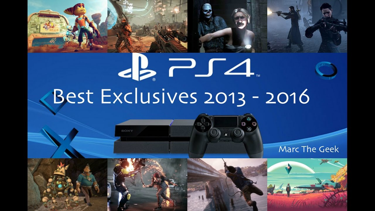 Ps4 Best Exclusive Games From 2013 To 2016 Youtube