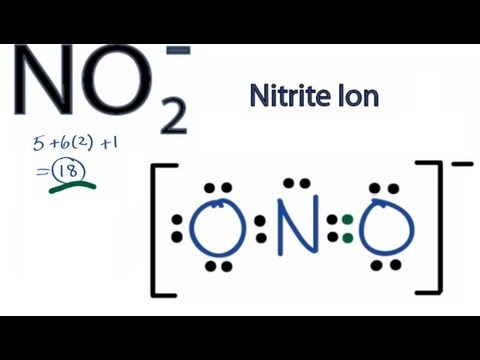 NO2- Lewis Structure: How to Draw the Lewis Structure for NO2-