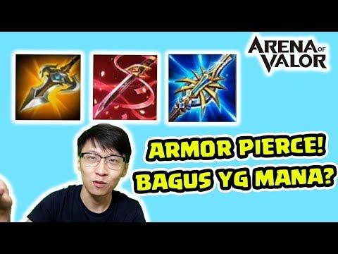 Jadi Pro Player #2 - Gimana Efek Armor Pierce? Bagus Yang Mana? AOV Indonesia