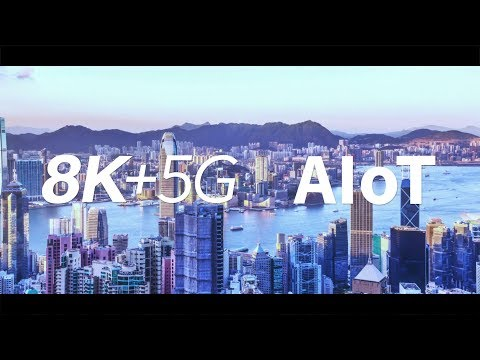 SHARP 8K+5G & AIoT Solutions (IFA2019)