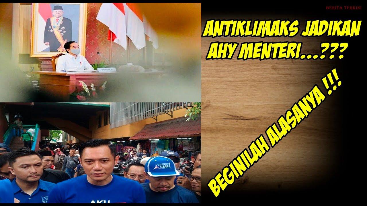 Berita Terkini - Antiklimaks Jadikan AHY Menteri, Beginilah Alasanya !!