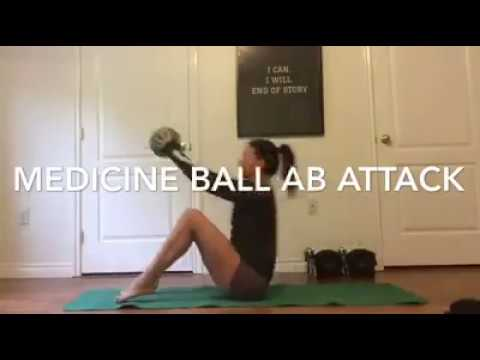 Medicine Ball Ab Attack