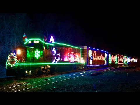 MUST WATCH! Chasing the 2017 CP Holiday Train in Canada!!! Best Railfanning Trip Ever!!!