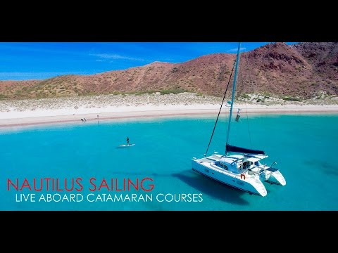 Live Aboard Catamaran Sailing Courses with Nautilus Sailing