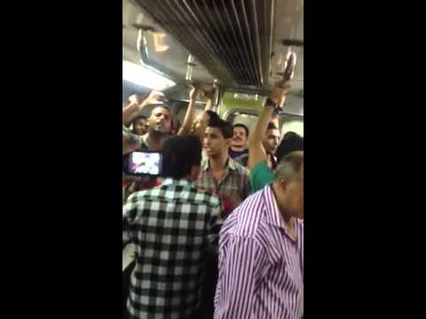 Inside cairo subway 3rd July 2013