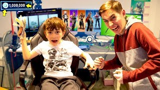Kid Spends £1000 in Fortnite Using Brother's Credit Card!!