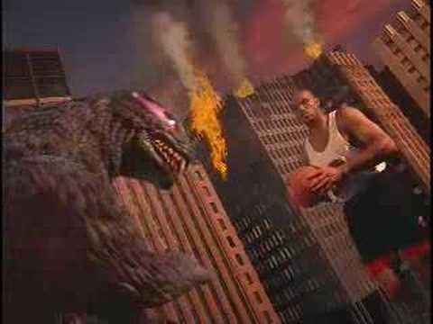 Nike Commercial 'Godzilla vs Charles Barkley''