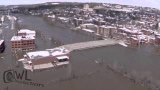 Inondations à Sherbrooke - 16 avril 2014