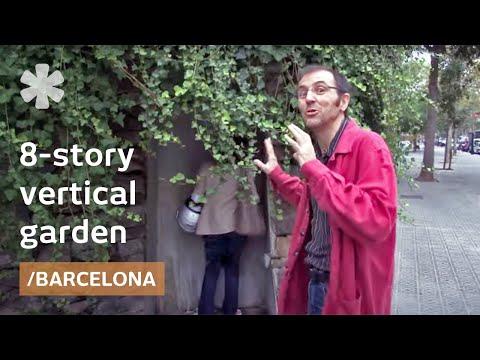 Skyfarming prototype? 8-story, climbable vertical garden in Barcelona