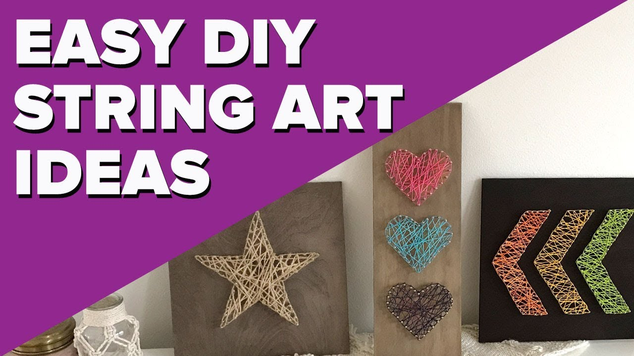 Easy Diy String Art Projects Quick