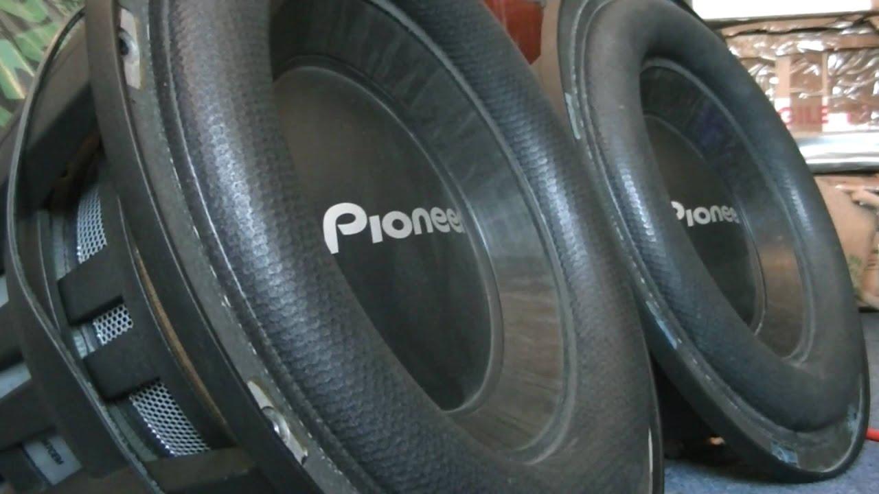 x2 pioneer ts w121spl drop it drop it low youtube rh youtube com