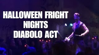 Halloween Fright Nights 2019 diabolo - Ezra Veldman