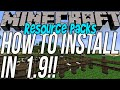 How To Download & Install Resource Packs In Minecraft 1.9 (Get Texture Packs In 1.9!!)