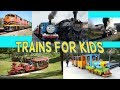Trains for Kids | Thomas the Train | Transport and Big Trains for Children